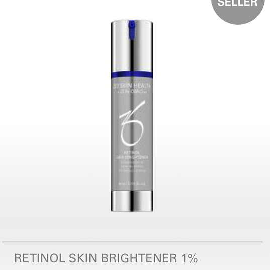 50 ML / 1.7 FL. OZ. 1% retinol brightens and evens the skin tone.  BENEFITS  Targets skin discoloration and breaks up existing pigmentation Brightens skin and helps even skin tone Helps prevent future damage Antioxidant protection and helps support the repair of the skin