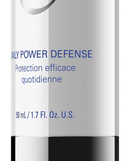DAILY POWER DEFENSE 50 ML // 1.7 FL. OZ.  Powerful antioxidant serum designed to improve the appearance of lines and wrinkles, and to address future damage.  BENEFITS:  *Provides antioxidant protection to combat free radical damage *Helps tighten and firm the skin Promotes skin health  DIRECTIONS FOR USE:  After GSR apply to clean, dry skin as the first product in your perscribed routine   ADVANCED INFORMATION:  *Ultrasomes (UV-endonuclease) and roxisomes (glycosylase): Introduces enzymes to help speed up the skin's natural repair process *Vitamin E: Provides antioxidant properties *Retinol (vitaine): Firms and helps even skin tone *Ceramide 6: Helps restore barrier function *Matrixyl 3000 (palmitoyl oligopeptide and palmitoyl tetrapeptide-7): Firms and re-densifies