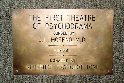 The First Theatre of Psychodrama1936