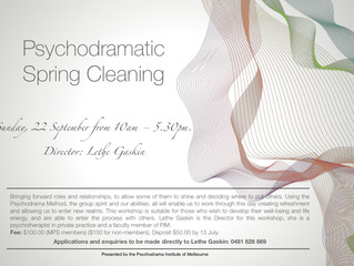 Psychodramatic Spring Cleaning