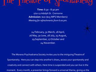 2019 Theatre of Spontaneity