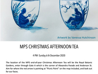 MPS Christmas Tea Party - 2020