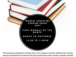 1st PIM Reading Group for 2021: Mondays Monthly Lunchtimes 12-1 pm