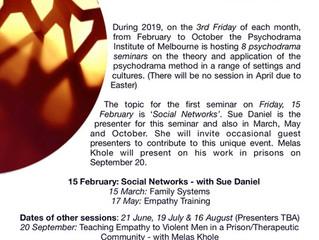 The Psychodrama Seminars 2019