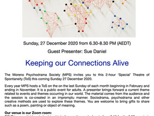 The Electronic Theatre of Spontaneity - Sunday December 27th 2020