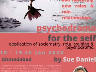Sue Daniel in Ahmedabad India - Jan 2020