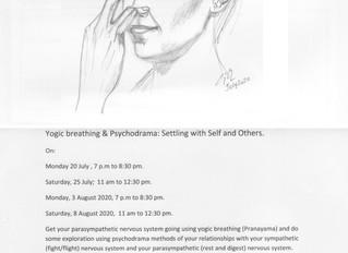 Yogic Breathing and Psychodrama