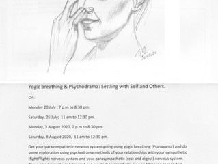 Yogic Breathing and Psychodrama