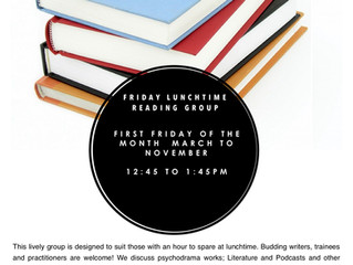 Friday Lunchtime Reading Group, 5 April 2019