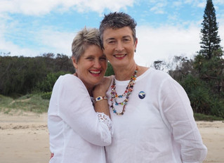 Kath and Jo got married