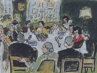 AT THE DINNER TABLE