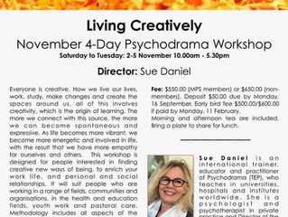 4-Day Psychodrama Intensive in November