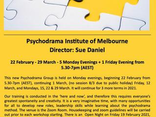 Open Psychodrama & Sociodrama Training Group 2021