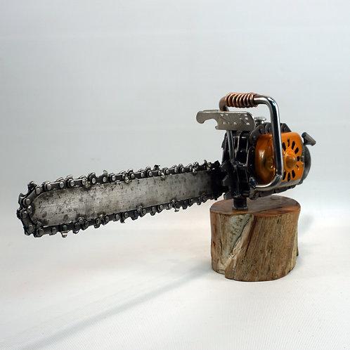 Metal Art Chainsaw