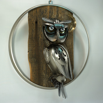 metal art owl 01