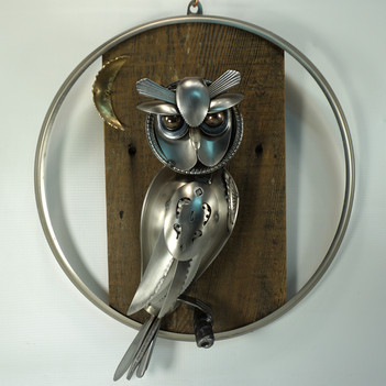 metal art owl 02