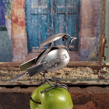 metal art Songbird 2