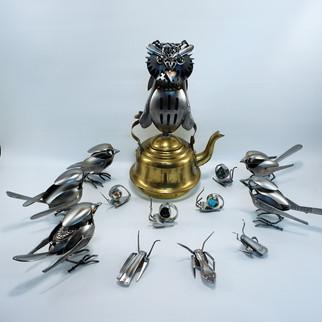 Owl on a Teapot