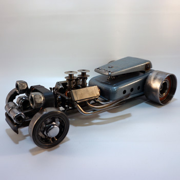 metal art ratrod