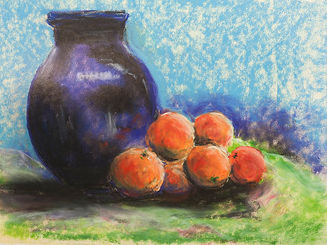 blue vase and clementines.jpg