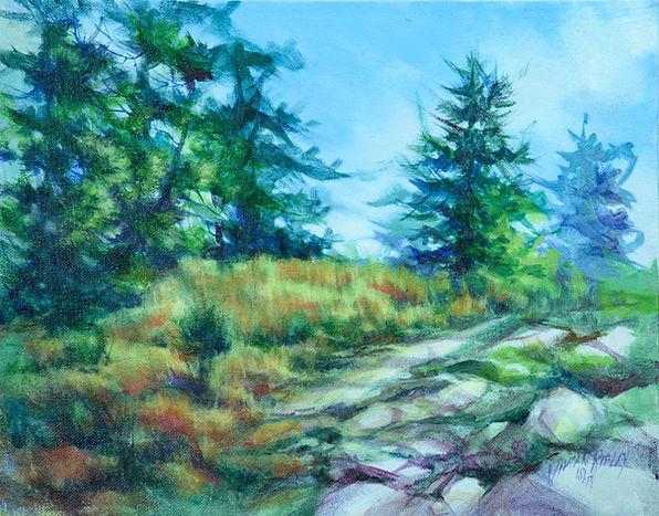 Late Autumn -Northern Onario  Acrylc.jpg