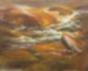 Ripley,V,B,Sunlit Flow,Acrylic, 16x20 $9