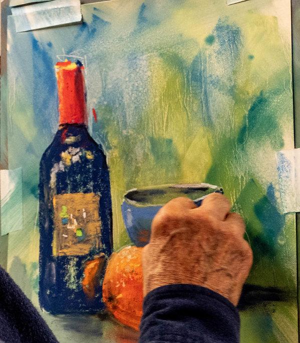 pastel  bottle and orange.jpg