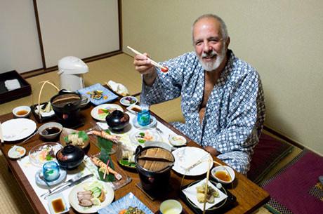 Great Meal in Kyoto Ryokan