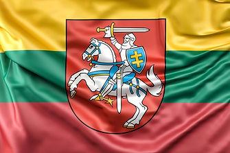 bandeira-da-lituania-com-brasao_1401-159