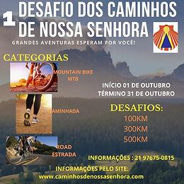 1 ° DESAFIO CNS - Caminhos de Nossa Senhora