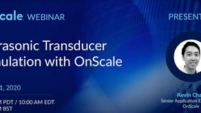 影音 - Ultrasonic Transducer Simulation with OnScale