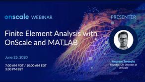 影音 - Finite Element Analysis with OnScale and MATLAB