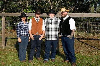Denise, Kahner, Dad, Franky Cunningham.j