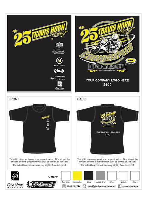 THR Road Racing T-Shirt Sponsor