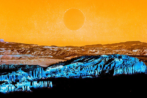 Turquoise Series: Second Sun (paper print)