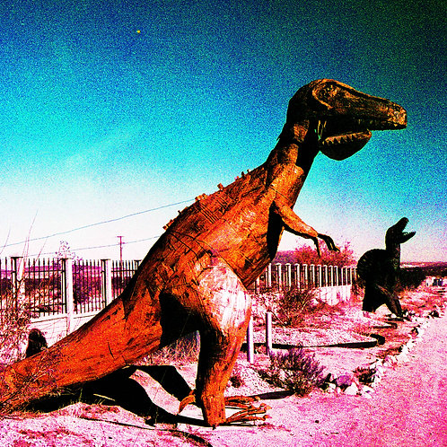 The Wasteland Series: Dinosaurs (paper print)