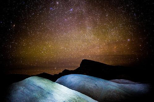 Astro Series: Death Valley (aluminum print)