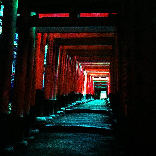 Street Scene Series: Fushimi Inari-taisha (aluminum print)
