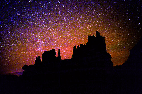 Astro Series: Bryce Canyon (aluminum print)