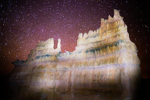 Astro Series: Bryce Canyon 2 (aluminum print)