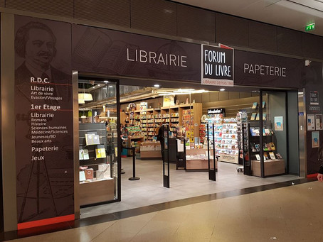 Librairie Forum du livre - Rennes -