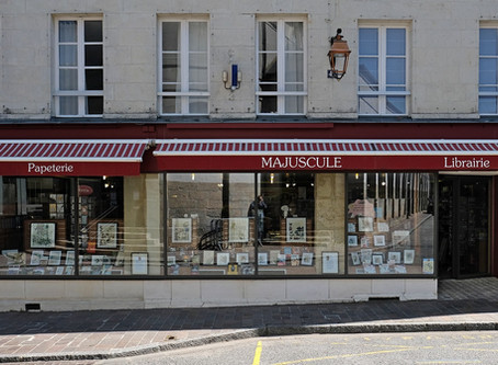 Librairie Majuscule   - Mortagne au Perche -