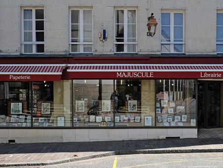 Librairie Majuscule   - Mortagne au Perche