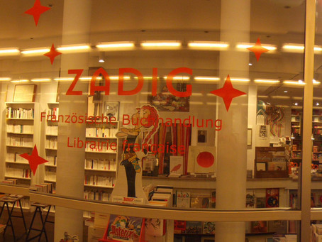 Librairie Zadig à Berlin - Französische Buchhandlung - Librairie française -