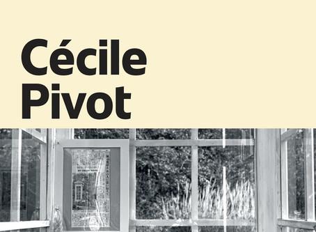 30 Septembre 19H - Cécile Pivot -                       Les lettres d'Esther
