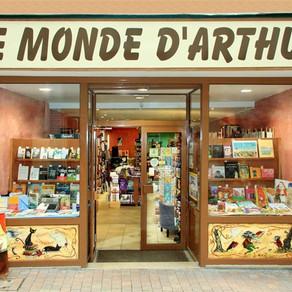 Librairie Le Monde d'Arthur Meaux