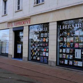 """Librairie """"Lu & approuvé"""" à Amboise"""
