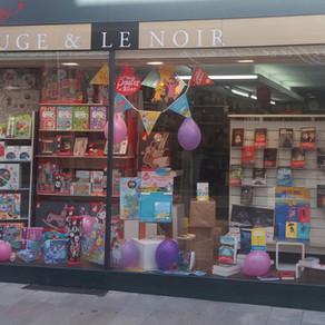 Librairie Le rouge et le noir Saint Chely d'Apcher en Lozère.