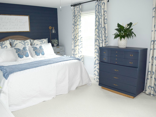 One Room Challenge - Week ? Master Bedroom Reveal - Better Late Than Never!