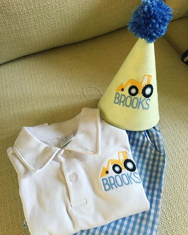 Adorable Birthday outfit for an adorable
